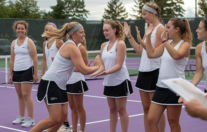 Women's Tennis Caps Two-Match Home Weekend with Loss to Merrimack