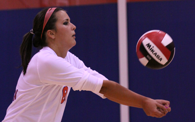 Lynn Surprises Mocs In Four Sets