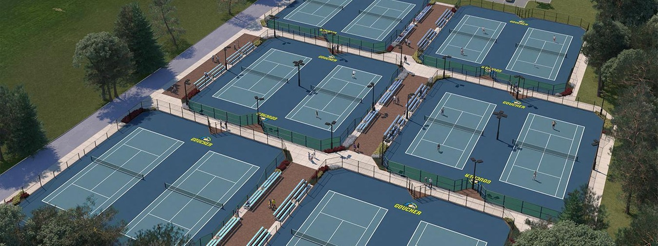 Groundbreaking For The Evelyn Dyke Schroedl '62 Tennis Center Set For Friday