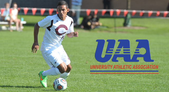 UAA Announces All-Association Men's Soccer Team; Nicco Capotosto of Chicago Named Most Valuable Player