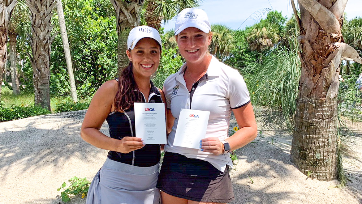 UNF's Herrick, Stetson's May Qualify for U.S. Women's Amateur