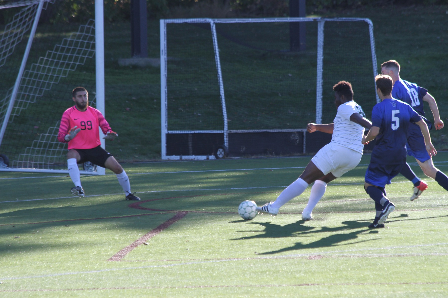 Men's Soccer Holds Off Westfield State
