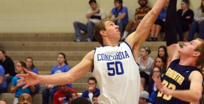 Falcon men rally past Benedictine