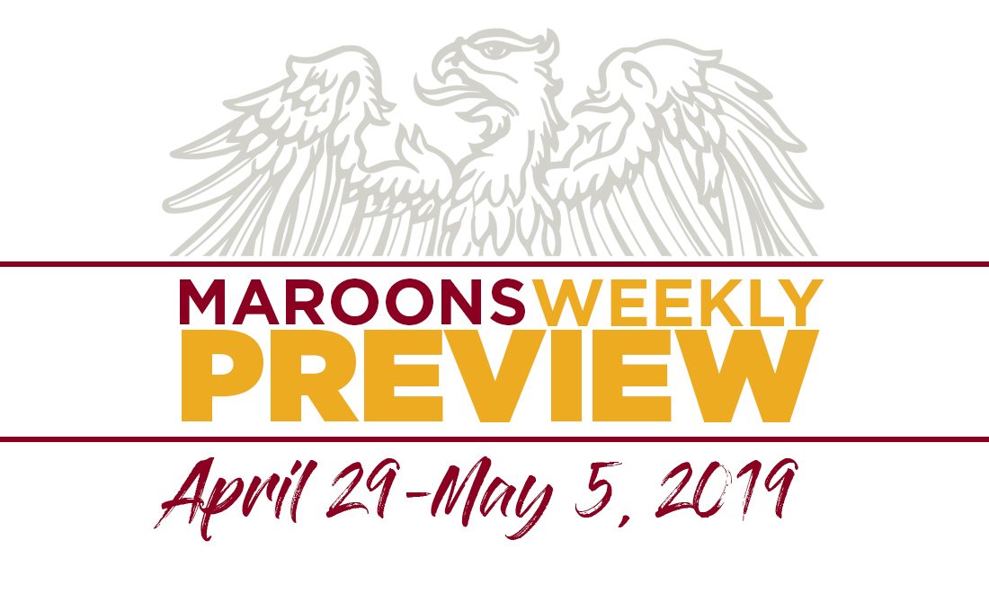 UChicago Athletics Preview: April 29 - May 5