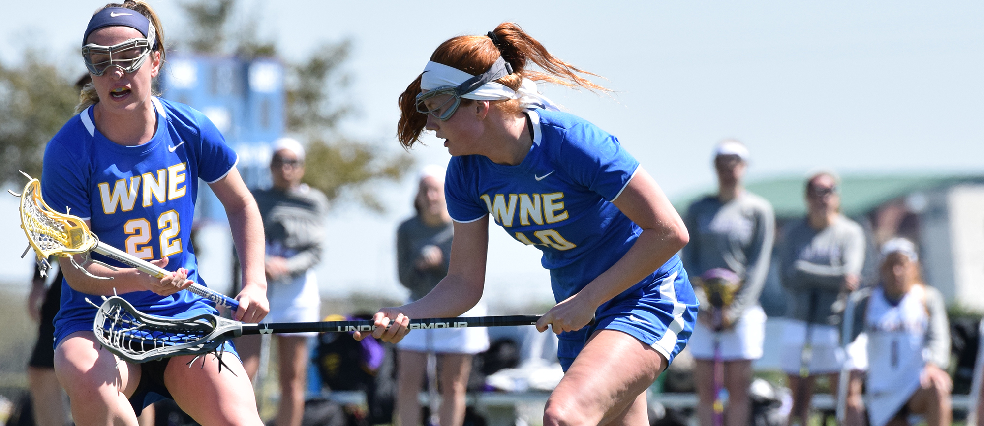 Sophomore Lindsey Phillips scored a career-high five goals in Western New England's 16-14 loss to Worcester State in Florida on Monday.