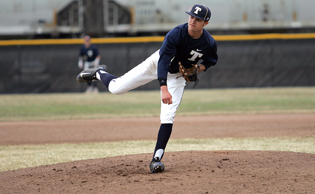 Trine Baseball Earns Split Against Kalamazoo