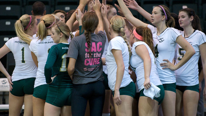 VOLLEYBALL PLAYS TWICE THIS WEEK; HOME MATCH ON SATURDAY AFTERNOON