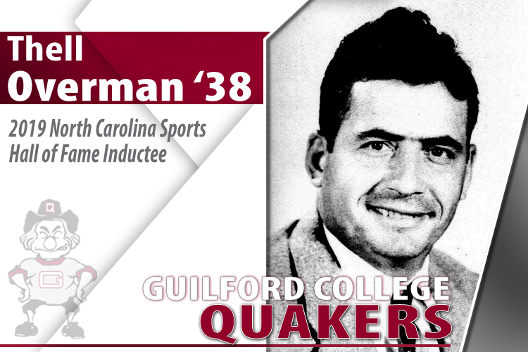 Thell Overman '38 Selected to N.C. Sports Hall of Fame Class of 2019