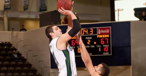 GC Men's Hoops Falls in Close one, 59-56