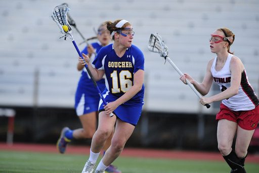 Goucher's Playoff Hopes Damaged with Loss at Drew