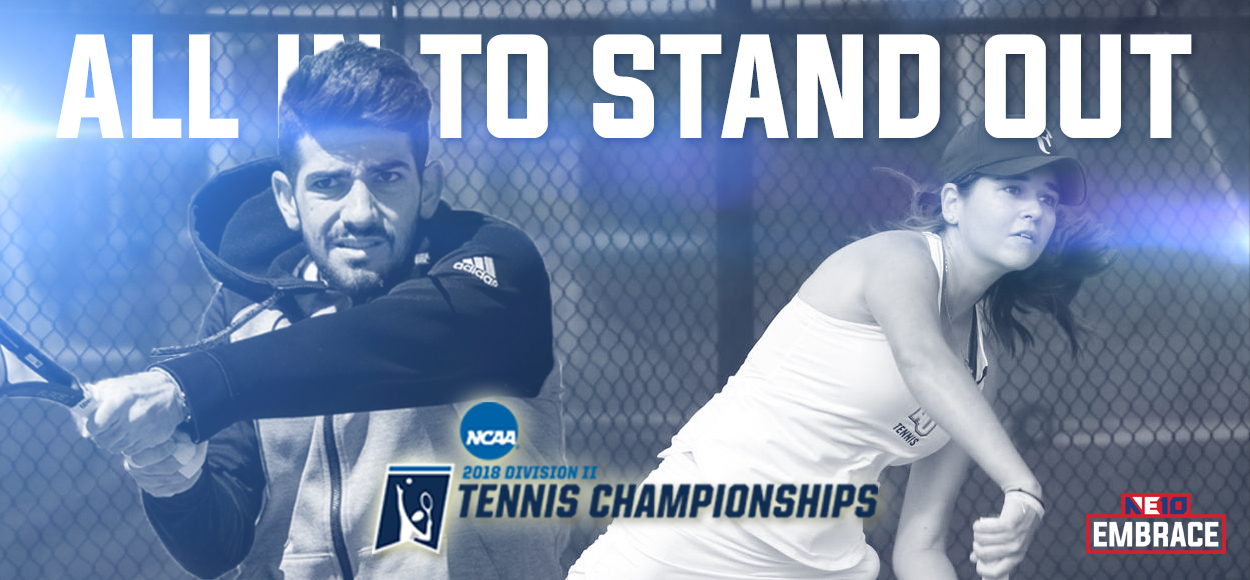 Embrace The Championship: Five NE10 Tennis Programs Selected to Compete at NCAA Championships
