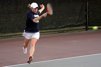 Brandeis women's tennis completes 9-0 sweep of Babson
