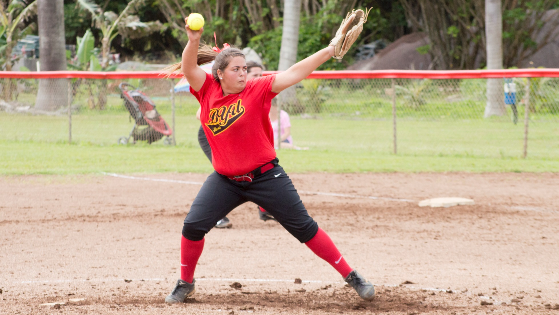 Taiana Williamson allowed one earned run in her first victory as a Seasider.