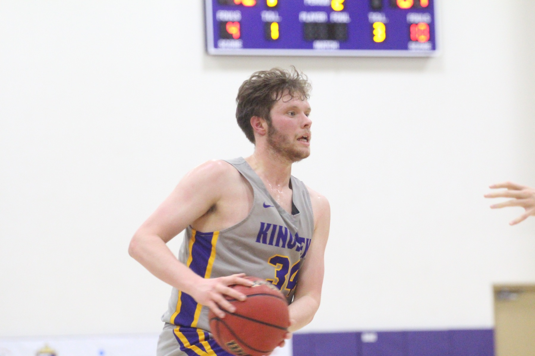Tyler Brabant scored a career-high 15 points in the loss to Occidental.
