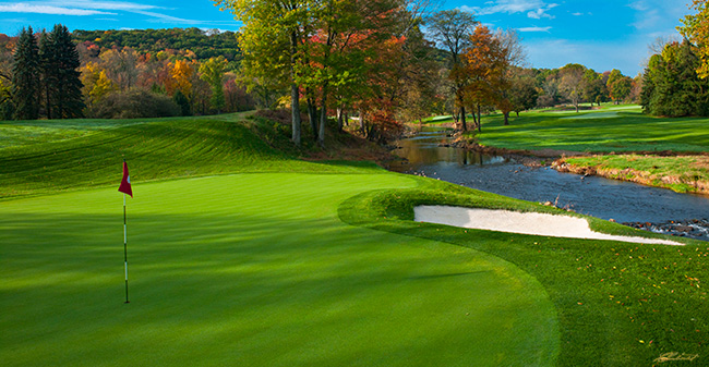 Saucon Valley Country Club - Weyhill Course - hole 2