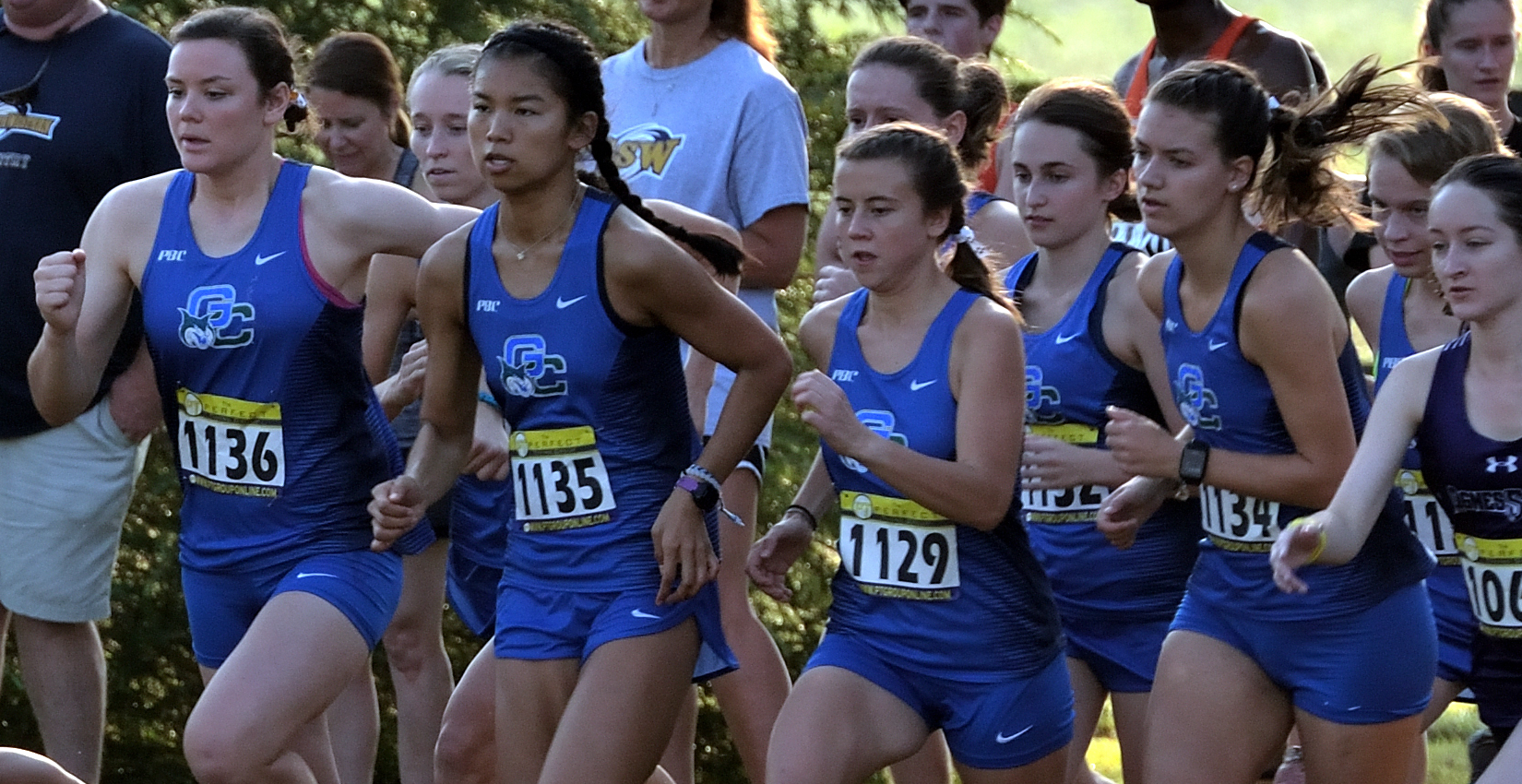 Bobcat Women's Cross Country led the way with a 3.80 team GPA