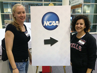 Bush, Vanno To Attend 2013 NCAA Student-Athlete Leadership Forum