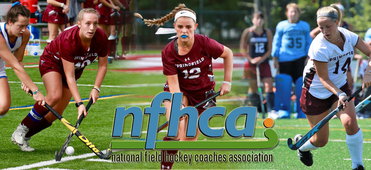 Ashe, Conley, and Nusbaum Named to NFHCA All-Region First Team