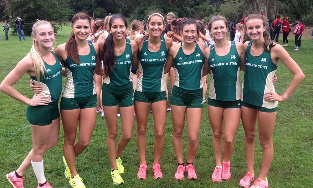 ALBANO LEADS WOMEN'S CROSS COUNTRY TO SECOND PLACE AT SPEEDWAY MEADOWS