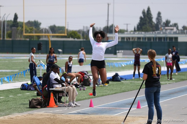 File Photo: Falcons win both the long jump and triple jump
