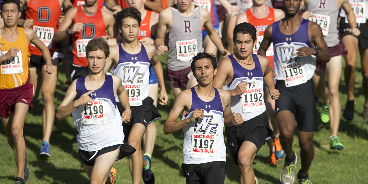 Fast Freshmen Finishes Help Cross Country Achieve 4th Place Finish at SCIAC Championships