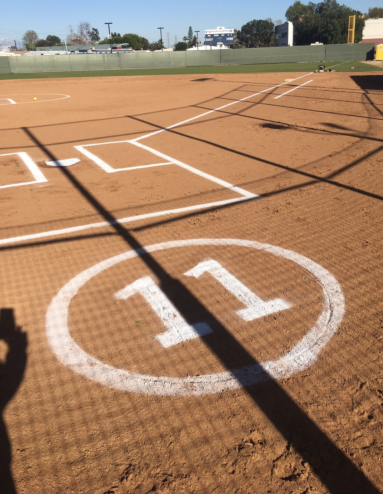 Compton Softball Honors Lavender at Home Opener