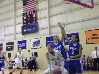 WOMEN'S BASKETBALL OPENS SEASON WITH VICTORY OVER HILBERT