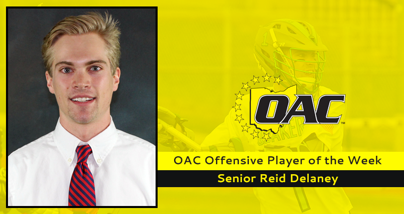 OAC honors for Delaney