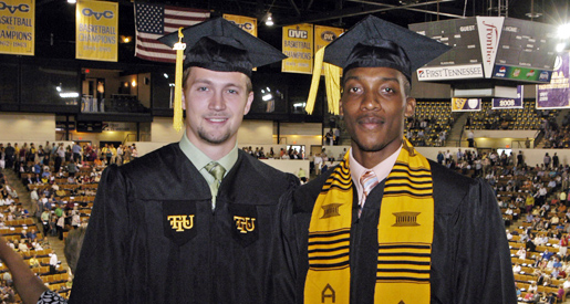 Spring graduation ceremonies include 43 students from athletics