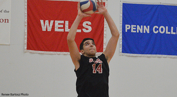Lancaster Bible Defeats Wells Men's Volleyball