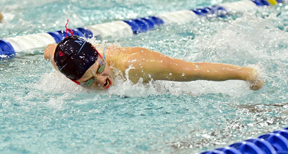 Swimming & Diving Wraps-Up Action at Hamilton Invitational