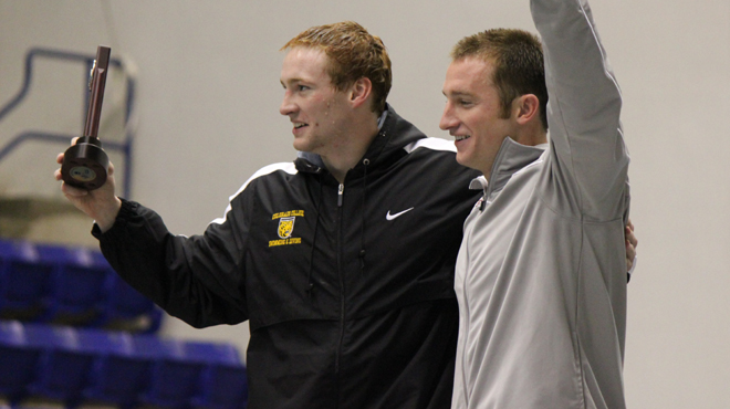 DeGayner's National Title Highlights Day Two at NCAA Swimming/Diving Championships