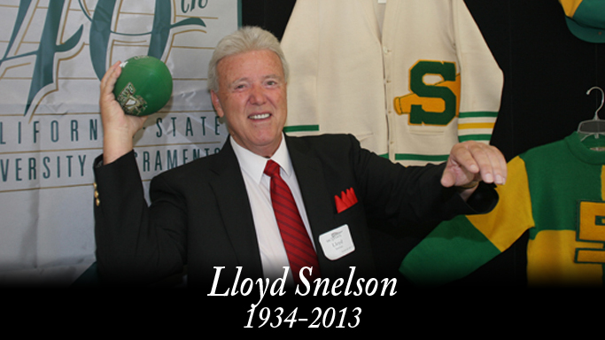 CELEBRATION OF LIFE FOR LLOYD SNELSON SET FOR TUESDAY
