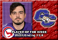 Michael Snow-Curry, Men's Ice Hockey: Player of the Week