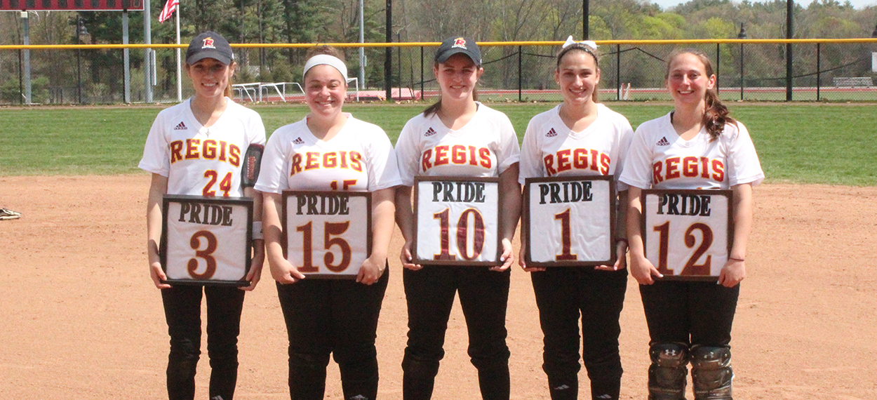 Pride Splits with Becker on Senior Day