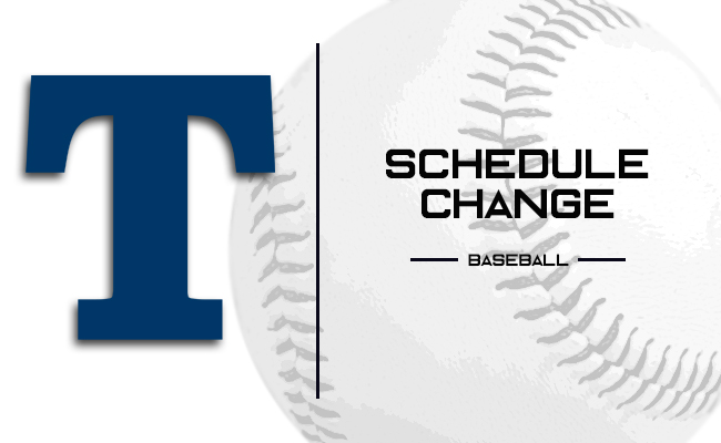 Baseball Saturday Doubleheader Against Hope Postponed