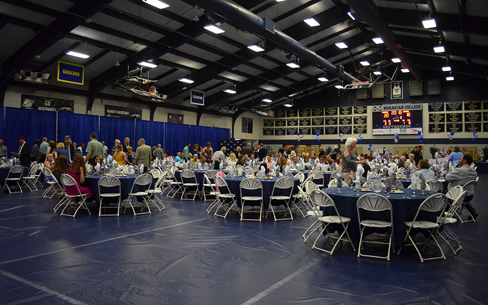 The 2018 Senior Athlete Banquet in Johnston Hall.