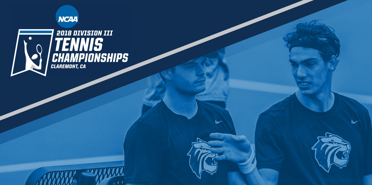 Trinity Men's Tennis Opens NCAA Tournament at Claremont