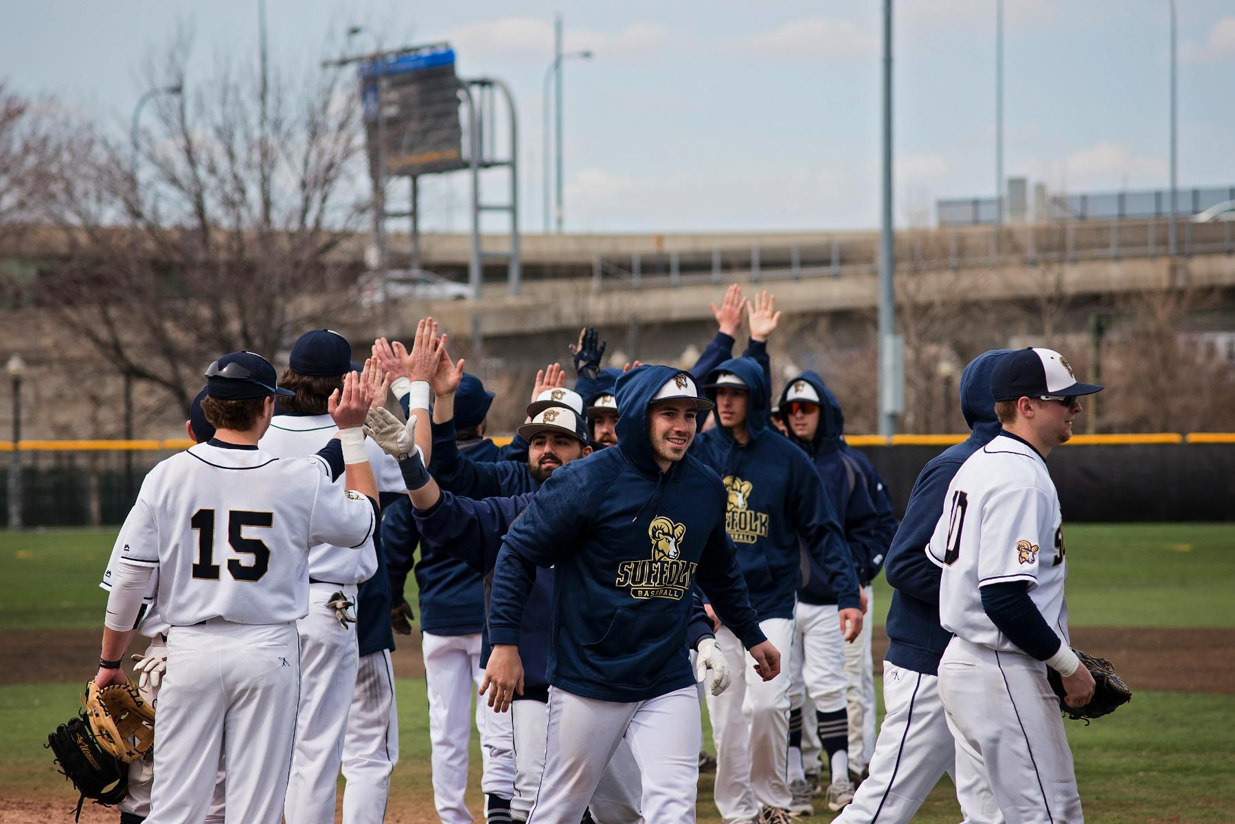 Baseball Steps Out of GNAC Play, Visits Mass. Maritime, Eastern Conn. State