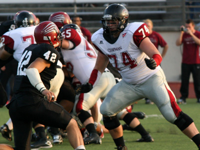 Chapman Football Game Notes (10/1/11)