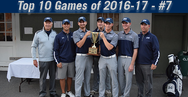 Top 10 Games of 2016-17 - #7 Golf Wins John Makuvek Cup by 30 Strokes