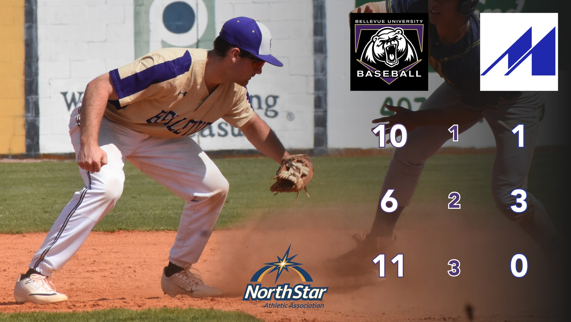 Bruins sweep triple-header, secure NSAA series victory over Mayville