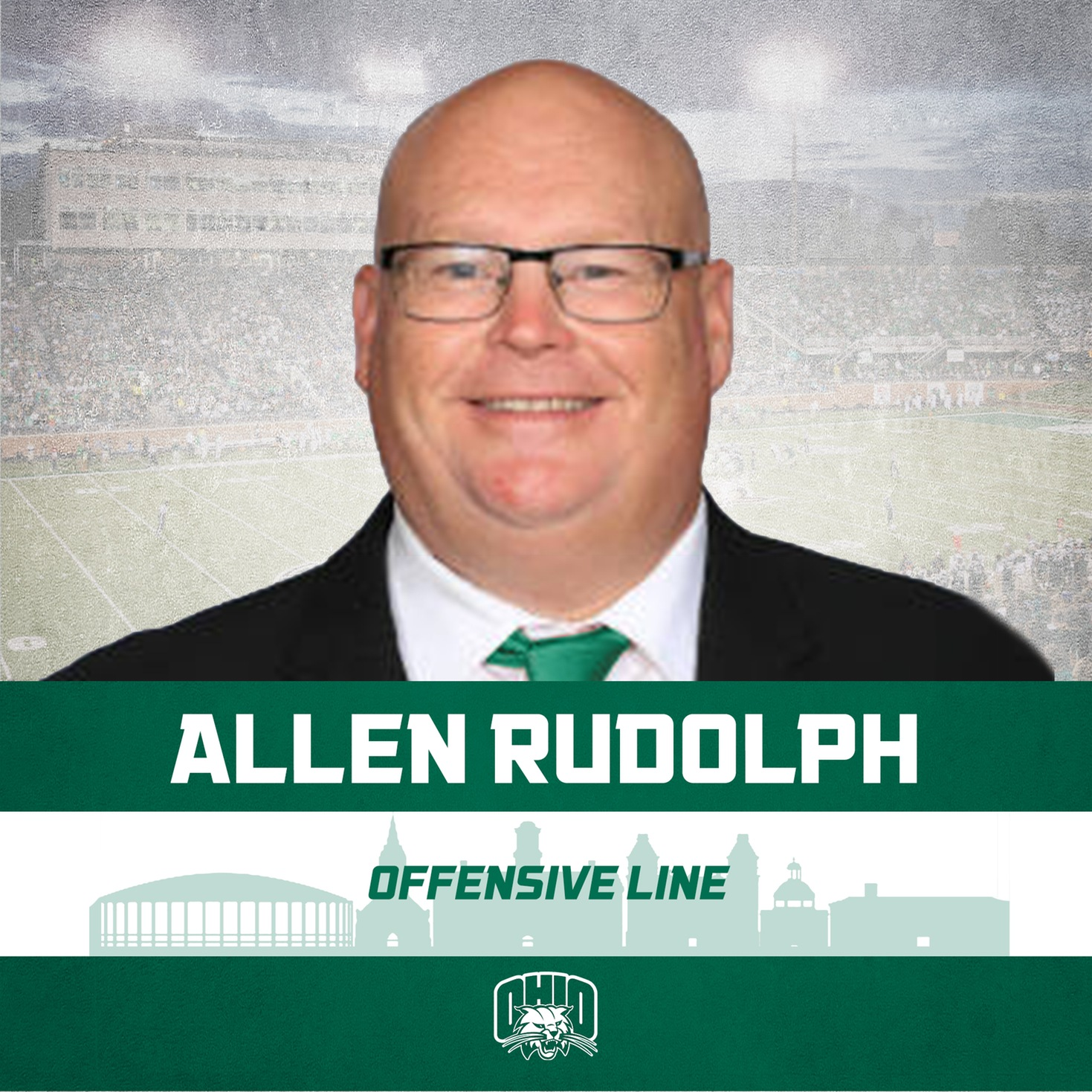 Ohio Football Announces Rudolph As Offensive Line Coach, Promotions Of Albin, Germano