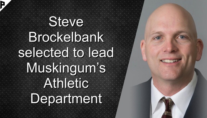 Steve Brockelbank selected to lead Muskingum's Athletic Department
