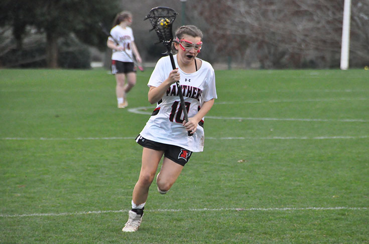 Women's Lacrosse: Panthers finish road trip with loss to William Peace