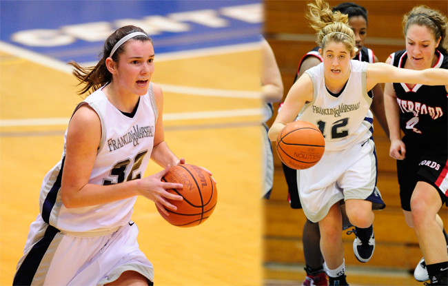Barbush, Pauley Named All-CC Honorable Mention