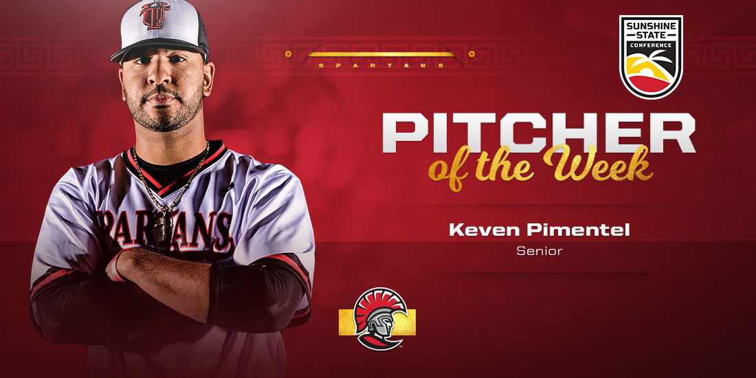 Keven Pimentel Named SSC Pitcher of the Week
