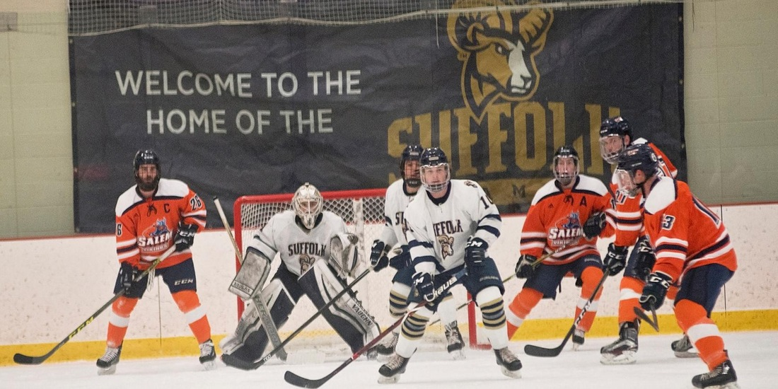 Men's Hockey Hosts Franklin Pierce, Visits Assumption on 2018-19 Opening Weekend