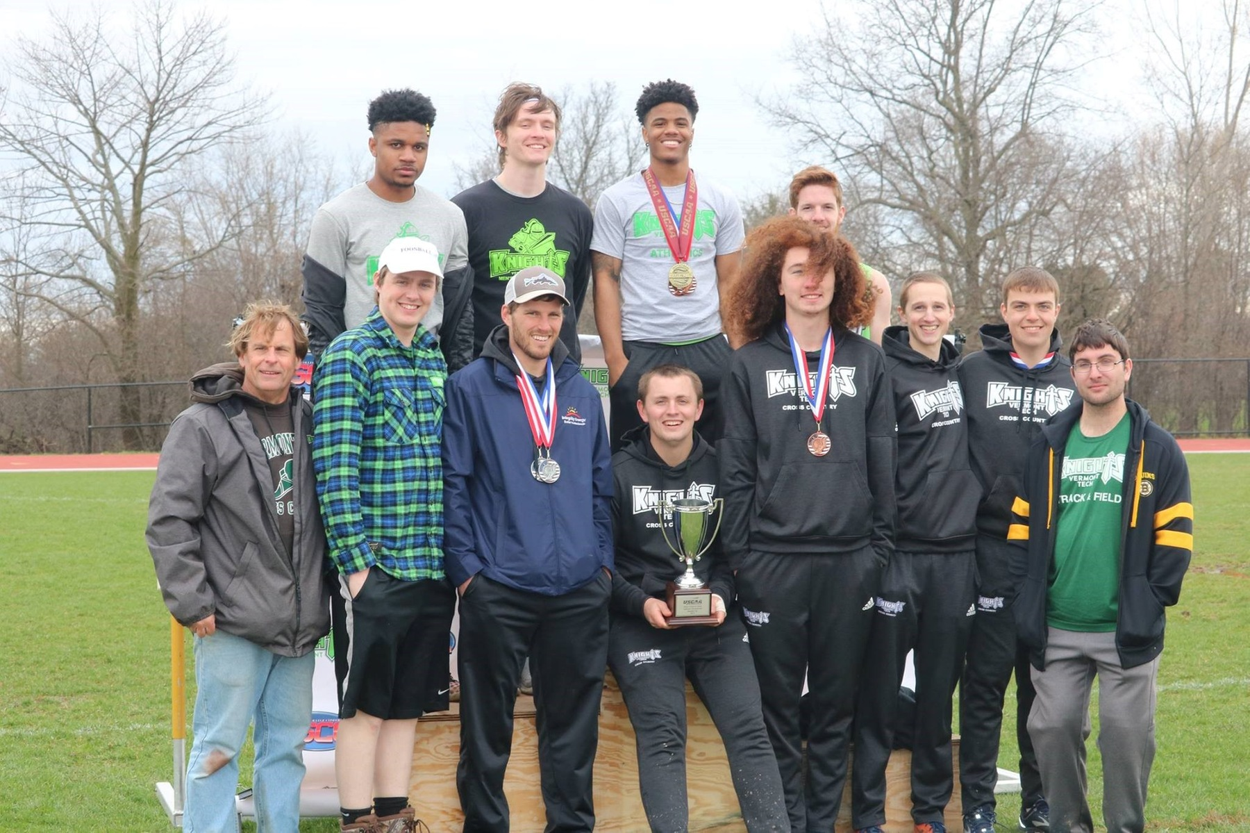 Men's Track takes 2nd at USCAA Nationals