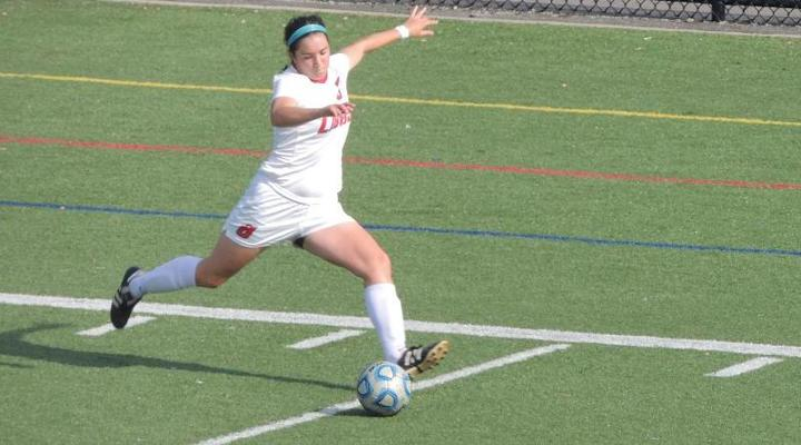 Women's Soccer Rallies to Earn 3-3 Draw with Wentworth